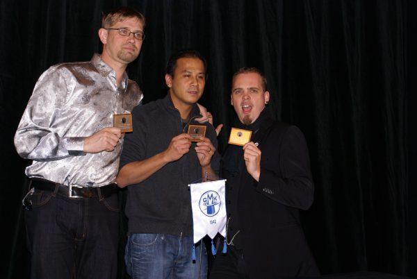 Johan, Niklas och Gaston
