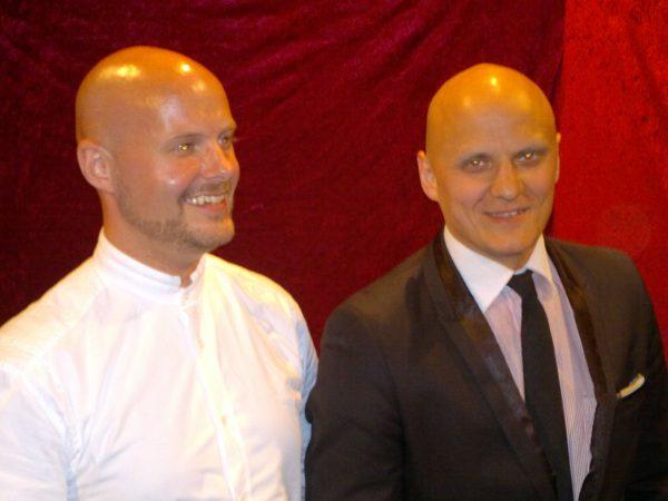 Robert Devon och Riku Koponen