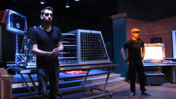 Illusionseminarie med Henrik och Mattias