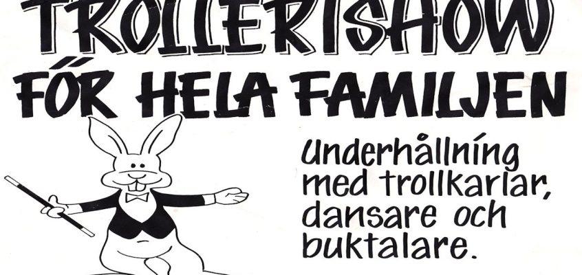 Föreställning – Uddevalla 12 november 1989