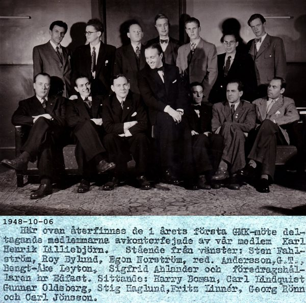 Årsmöte 1948-10-06