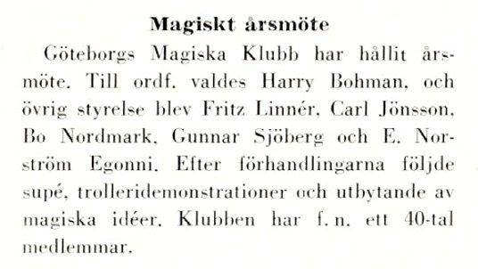 GMK Årsmöte 1959