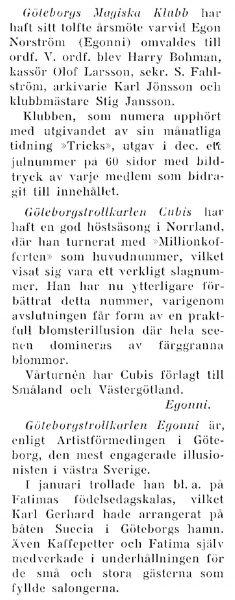 GMK Årsmöte 1954