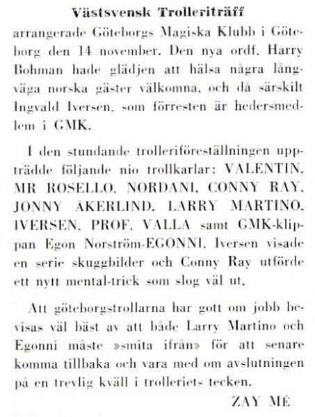 GMK 14 november 1959