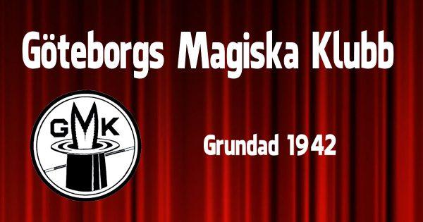 GMK - Göteborgs Magiska Klubb - Bildad 1942