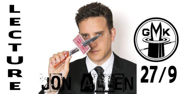 Jon Allen - Lecture 27/9