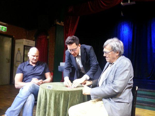 Hans Tönvall, Jon Allen och Lennart Green