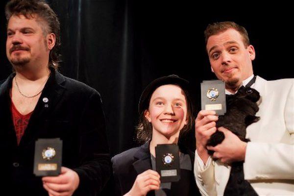 Martin, Isidor och Gaston