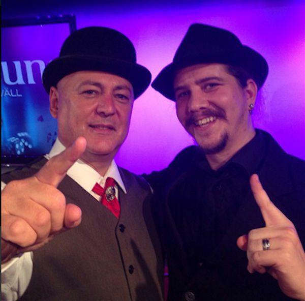 Gazzo och Samuel Varg Thunberg