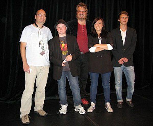Robert, Simon, Martin, Elin, Max