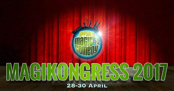 Uppsala Magic & Comedy 20-30 april