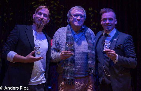 Anton, Lennart och Gaston