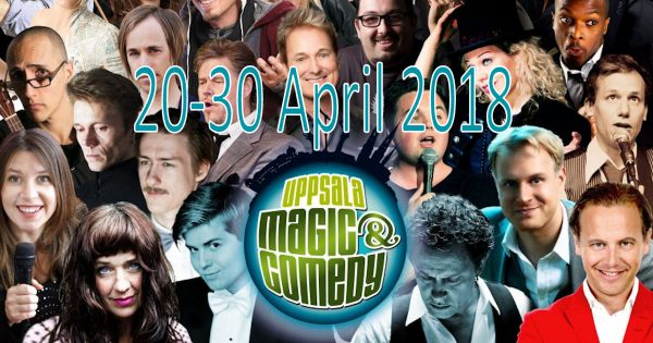 Uppsala Magic & Comedy 2018