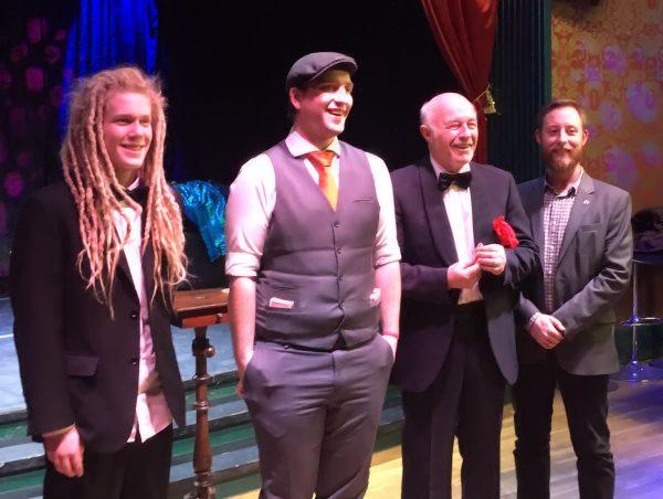 Oliver, Anders, Lars och Jesper