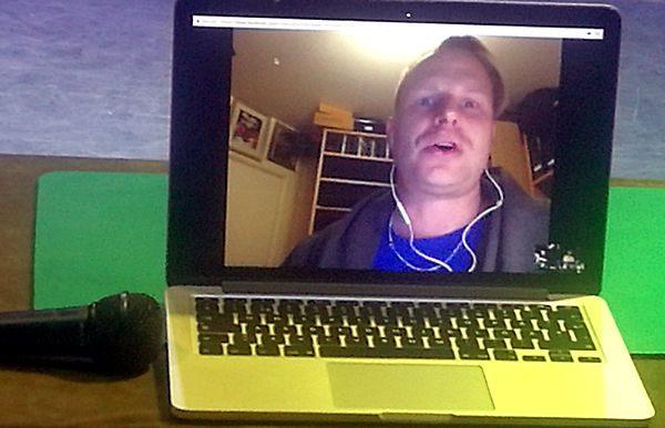 Johan Ståhl på videolänk