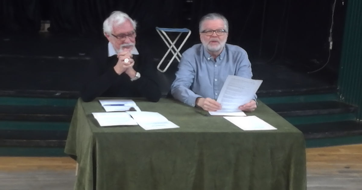 Carno och Sylvan leder årsmötet