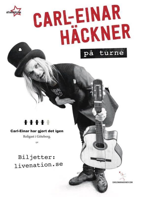 Carl-Einar Häckner på Turné