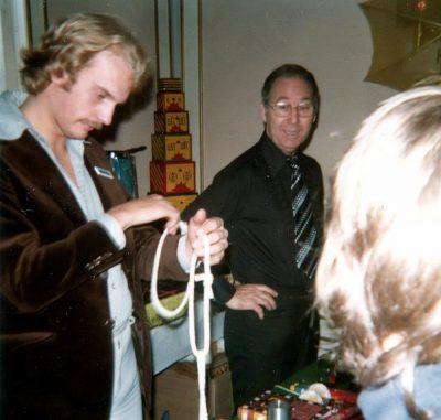Harries (Sverige) Tim Star trollar för Lennart Harries